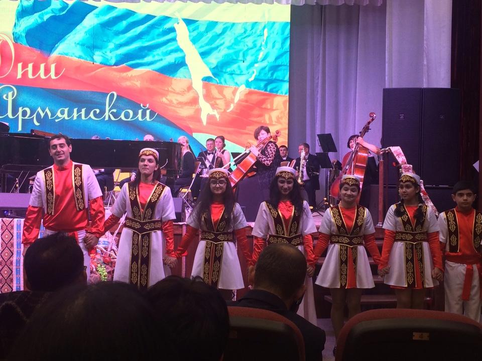 Почетный консул Кыргызской Республики в г.Южно-Сахалинск В.А. Трофимов принял участие в торжественном открытии Дней армянской культуры.