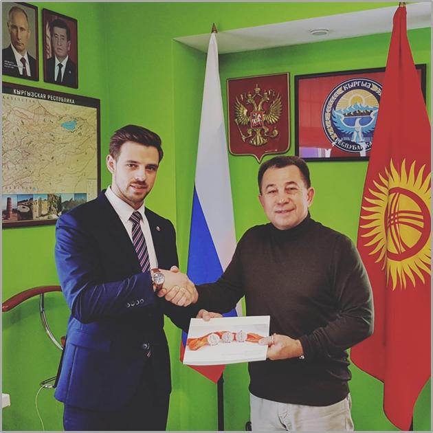 Почетный консул Трофимов встретился с руководителем Ассоциации Кендо